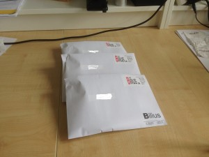 Pakket og klar